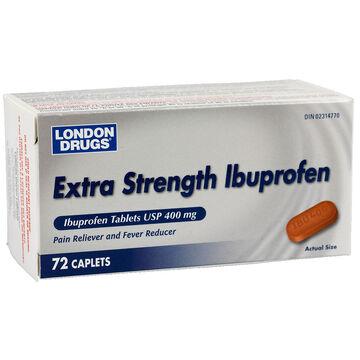 London Drugs Ibuprofen - Extra Strength - 400mg - 72's