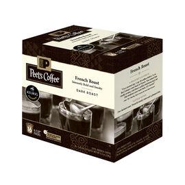 Peet's French Roast Keurig Coffee Pods - Dark Roast - 16's