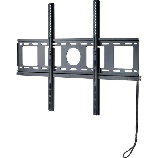 "IQ Ultra Slim Large Fixed Mount for 37"" - 65"" Panels - Black - IQLP1"