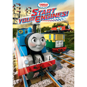 Thomas & Friends: Start Your Engines! - DVD