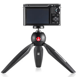 Manfrotto PIXI Mini Tripod - Black - MTPIXI-B