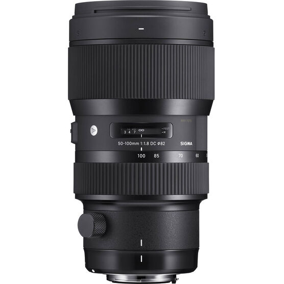 Sigma Art 50-100mm F1.8 DC HSM Lens for Nikon - A50100DCHN