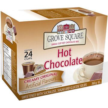 Grove Square Hot Chocolate - Original - 24 pack