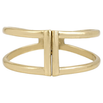 Kenneth Cole Hinged Bangle - Gold Plated