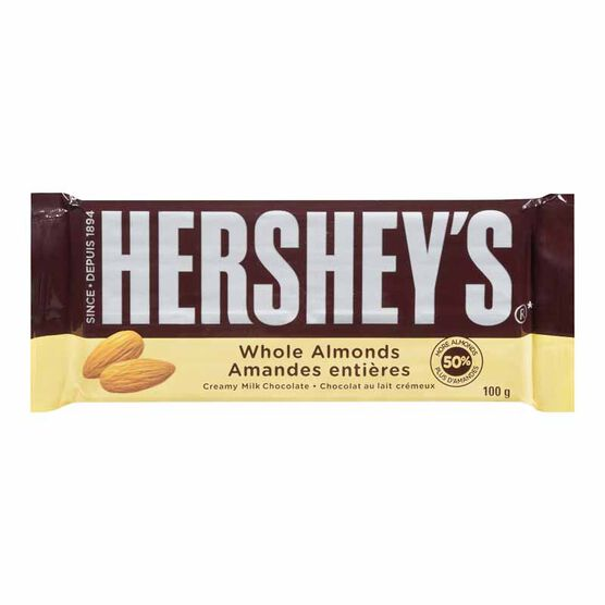 Hershey's Almond Milk Chocolate - 100g