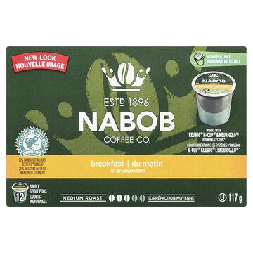 Nabob Breakfast Blend Coffee - 12 pack