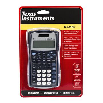 Texas Instruments Solar Scientific 2 Line Calculator - TI30XIIS
