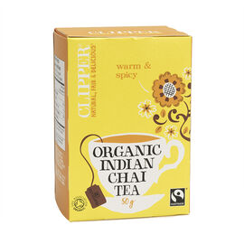 Clipper Organic Tea - Indian Chai Tea - 20's