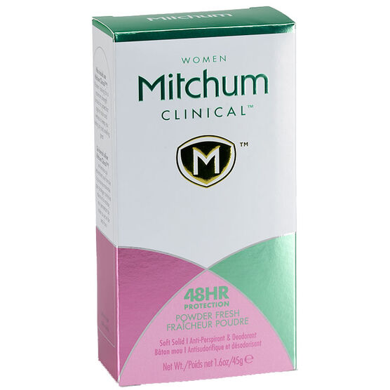 Mitchum Women's Clinical Powder Fresh Anti-Perspirant and Deodorant - 45g