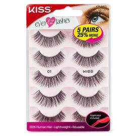 Kiss Ever EZ Lash Multipack - 01 - KPLM03CA