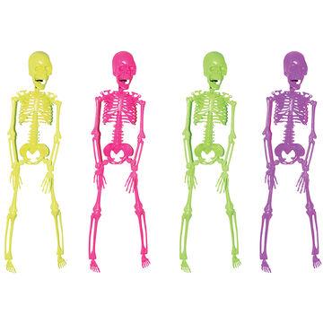 Halloween Neon Skeleton - 16in - Assorted