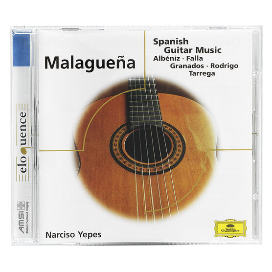 Narciso Yepes - Malagueña: Spanish Guitar Music - CD