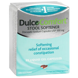 DulcoComfort Stool Softener - 25's