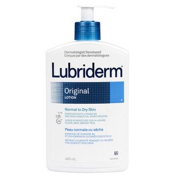 Lubriderm Original Moisture Body Lotion - 480ml