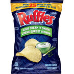 Ruffles Potato Chips - Sour Cream N' Onion - 245g
