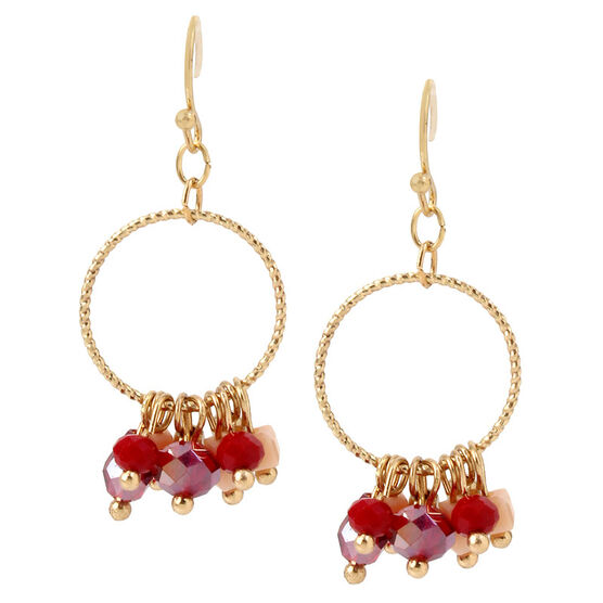 Haskell Drop Earrings - Multi