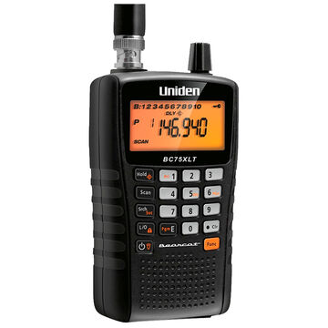 Uniden Handheld Scanner - Factory Reconditioned - BC75XLTRB