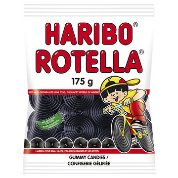 Haribo Rotella Licorice - 175g