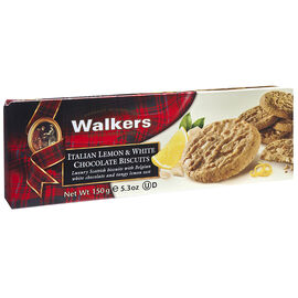Walkers Italian Biscuits - Lemon & White Chocolate - 150g