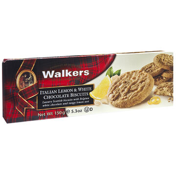 Walkers Italian Biscuits - Lemon & White Chocolate - 150g
