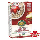 Nature's Path Instant Hot Oatmeal - Variety Pack - 400g