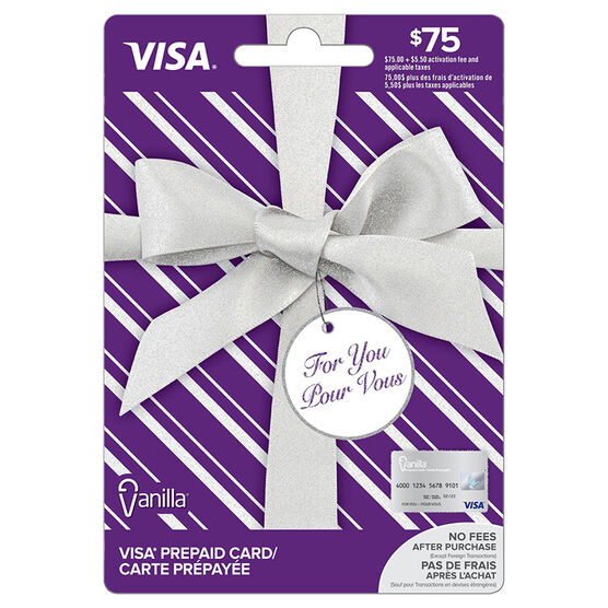 Vanilla Visa Gift Card - $75