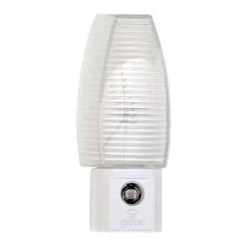 Globe Automatic On/Off Night Light - White