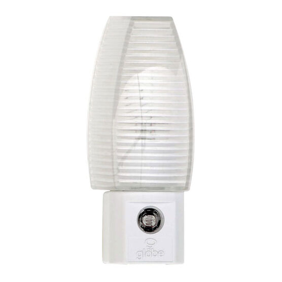 Globe Automatic On/Off Night Light - White