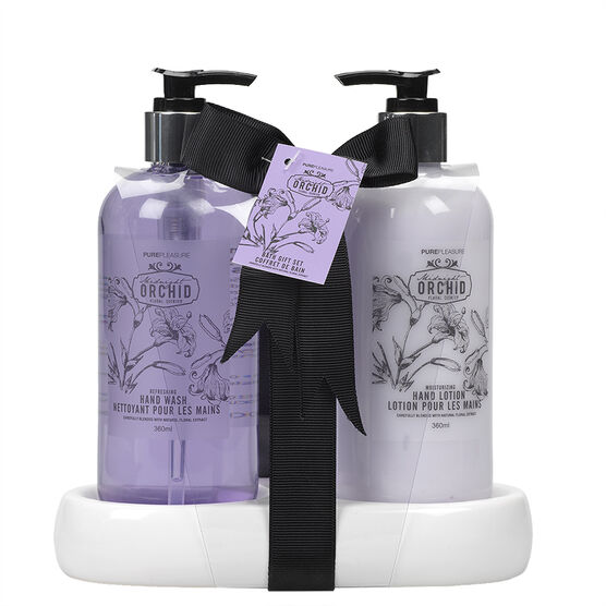 Pure Pleasure bath Gift Set - Midnight Orchid - 3 piece
