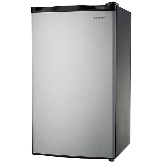 Sylvania 3.2 cu.ft. Stainless Steel Fridge - SFR322