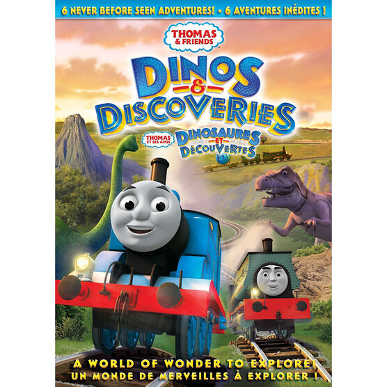 Thomas and Friends: Dinos and Discoveries - DVD