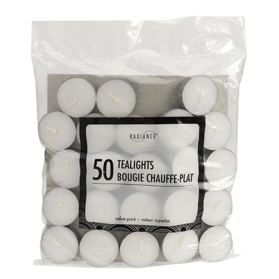 Radiance Bagged Tealights - 50 pack