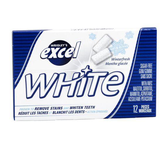 Excel White Gum - Winterfresh - 12 piece