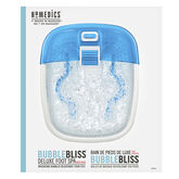 Homedics Bubble Bliss Deluxe Foot Spa with Heat - FB-50-CA