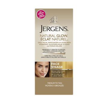 Jergens Natural Glow Facial Moisturizer with Sunscreen - Medium to Tan - 70ml