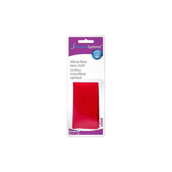 PharmaSystems Micro Fibre Lens Cloth - PS942