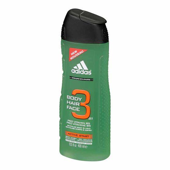 Adidas 3-in-1 Shower Gel - Active Start - 400 ml