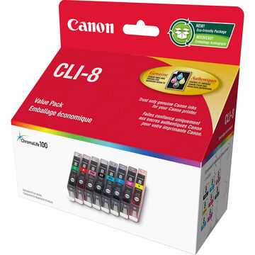 Canon CLI-8 Series Pack - Colour