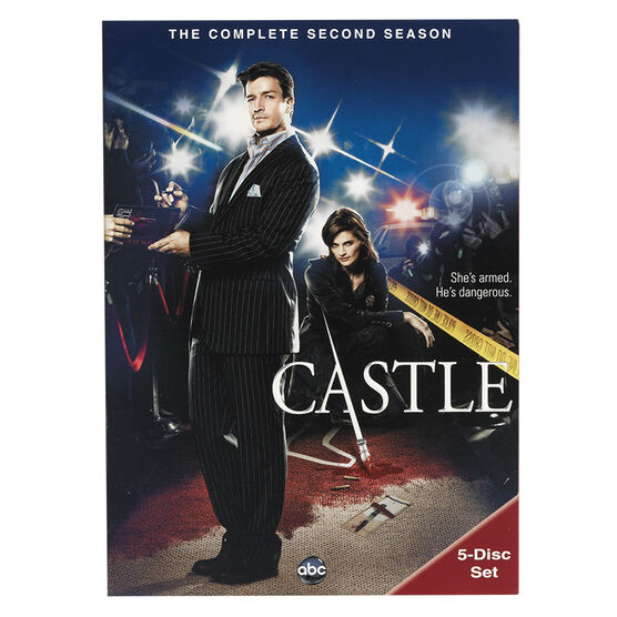 Castle: The Complete Second Season - DVD