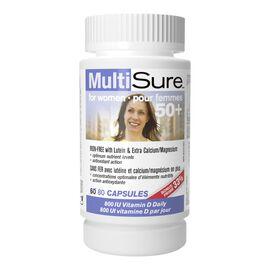 Webber MultiSure 50+ MultiVitamin & Mineral Supplement - Women - 60's