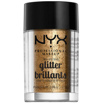 NYX Face and Body Glitter - Bronze