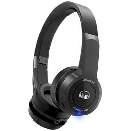 Monster Clarity Bluetooth On-Ear Headphones - Black - MHCLYONBKBTWW