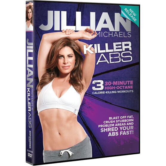 Jillian Michaels Killer Abs - DVD