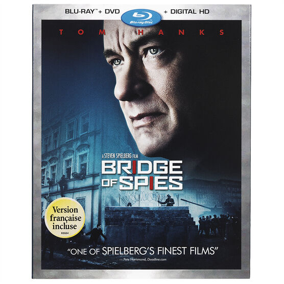 Bridge of Spies - Blu-ray + DVD