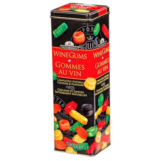Waterbridge Wine Gums Tin - 700g