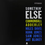 Cannonball Adderly - Somethin' Else - Vinyl