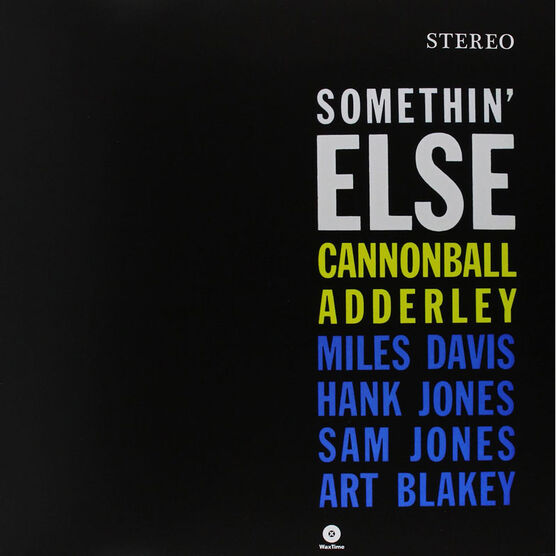Cannonball Adderly - Somethin' Else - Vinyl