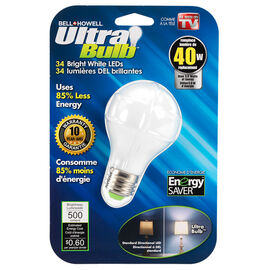 Ultra Bulb - 40 Watt - White