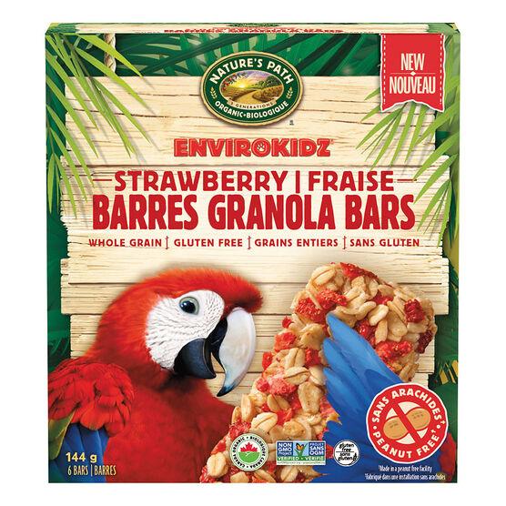 Nature's Path Envirokidz Granola Bars -Strawberry - 144g