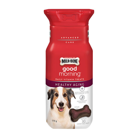 Milkbone Good Morning Daily Vitamins - Healthy Aging - 170g